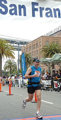 Marathoner and Business Lawyer David Newdorf