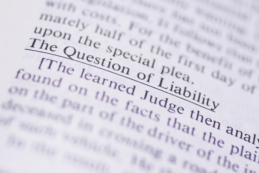 Liability questions
